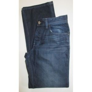 33329f25 A/X Armani Exchange 33 Straight Button Fly Jeans